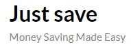 Just Save
